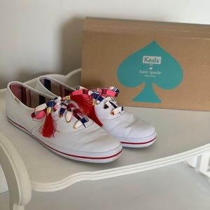 Kate Spade keds with tassels